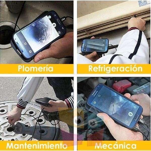 Endoscopio digital de inspección IP67 impermeable Pro Inst - 1