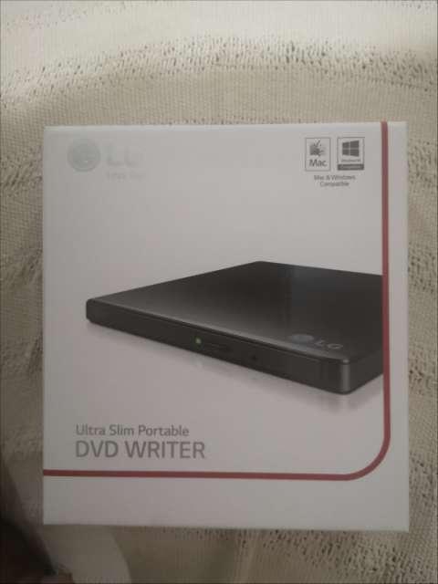 Grabador de DVD externo LG