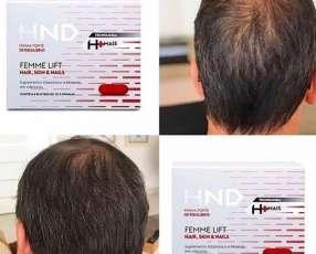 Cápsulas para caída del pelo