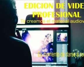 Edición de vídeos profesional para publicidad