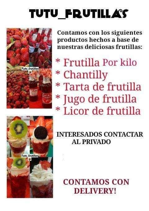 Frutillas por Kg