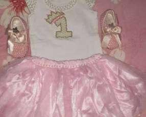 Vestido para niña de 1 año