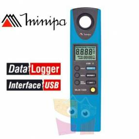 Luximetro - Minipa - MLM-1020 - Con registro de datos