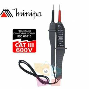 Verificador de Tensión Minipa ezTesT II
