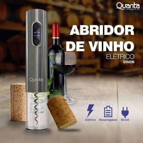Abridor de vino eléctrico Quanta