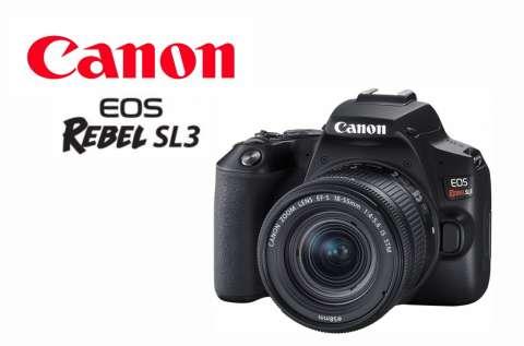 Cámara Canon SL3 Kit 18-55mm