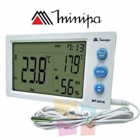 Termohigrometro Digital con sonda - Minipa - MT-241A - Tempe