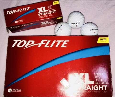 Pelotas de golf Top Flite xl straight