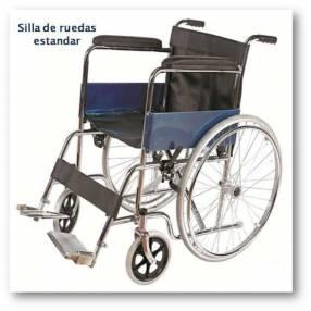 Alquiler de sillas de ruedas estándar