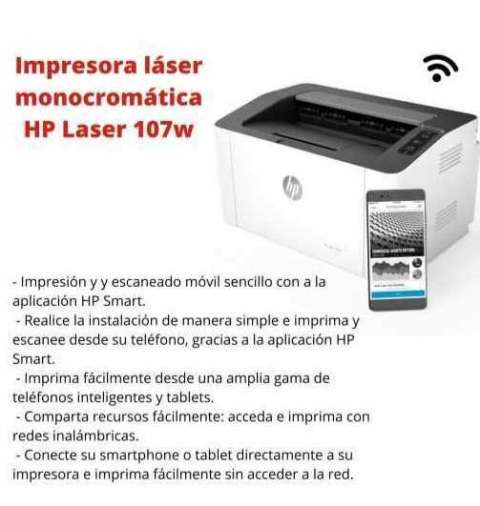 Impresora Láser HP 107W