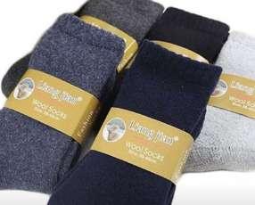 Medias de lana de oveja unisex