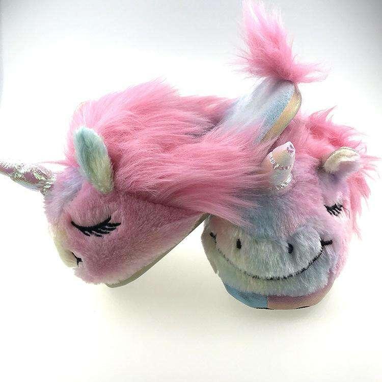Pantufla de unicornio - 0