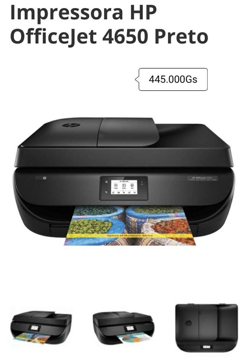 Impressora HP Officejet 4650 - 0