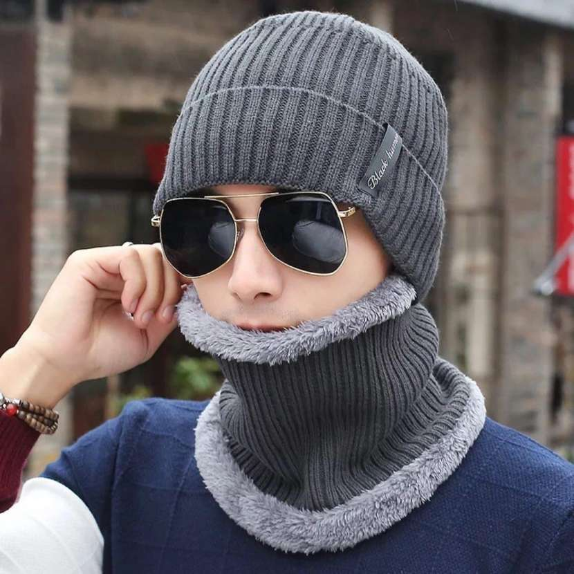 Gorra de lana - 1