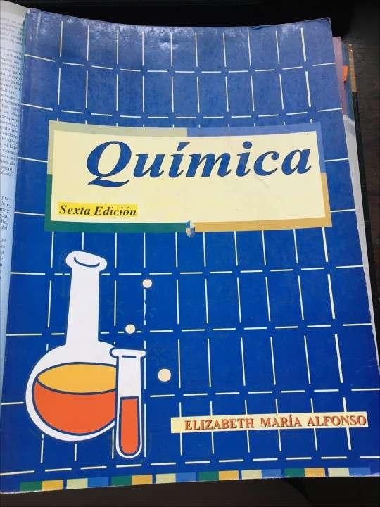 Libro de Química Alfonso (ingreso medicina y secundaria) - 0