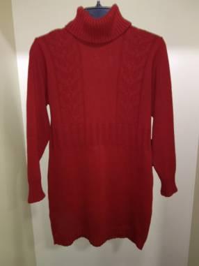 Suéter rojo para dama talle M