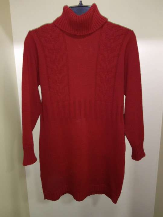Suéter rojo para dama talle M - 0