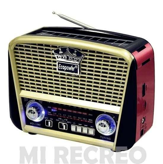 Radio retro Ecopower - 0