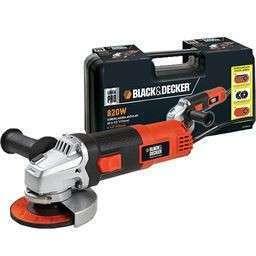 Amoladora 115mm 820W 220V + maletín Black&Decker - 0