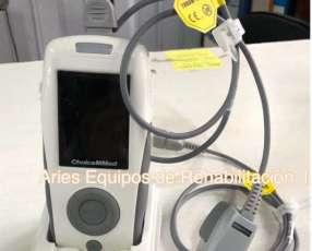Oximetro de pulso de mesa con sensor neonatal