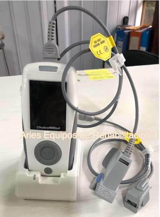 Oximetro de pulso de mesa con sensor neonatal - 0