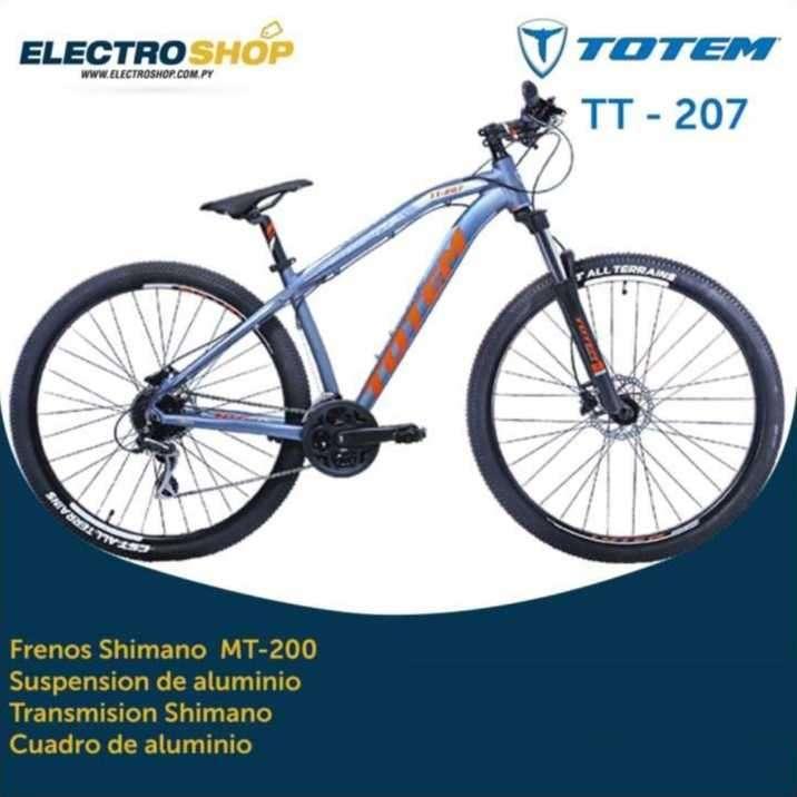 Bicicleta Totem TT-207 2019 - 0