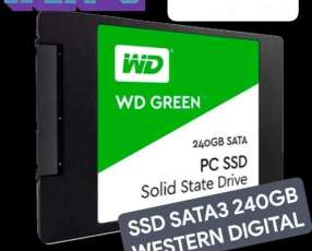 SSD SATA3 240GB Western Digital