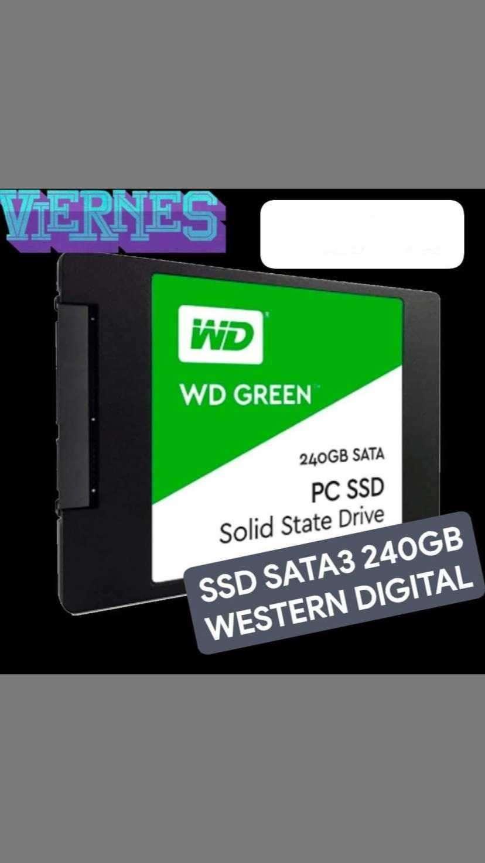 SSD SATA3 240GB Western Digital - 0