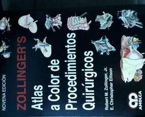 Libro Atlas a color de Procedimientos Quirúrgicos