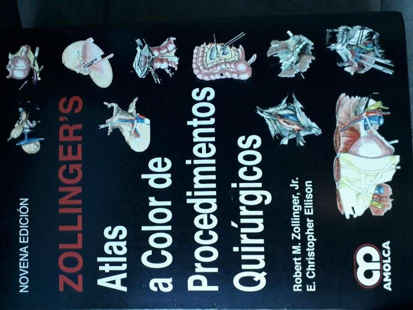 Libro Atlas a color de Procedimientos Quirúrgicos - 0