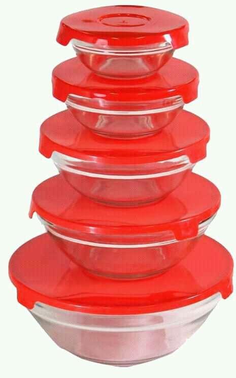 Set de vidrio 5 piezas - 1