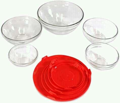 Set de vidrio 5 piezas - 3