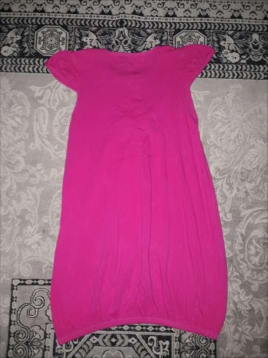 Vestido Infantil Rosa - 1