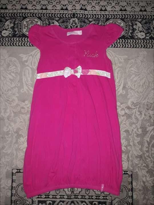 Vestido Infantil Rosa - 0