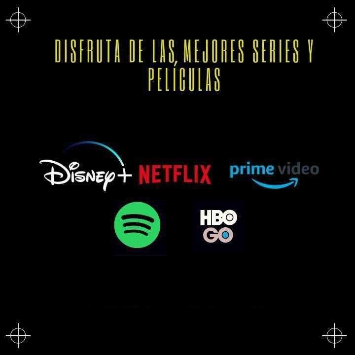 Cuentas Premium Netflix, Spotify y Amazon Prime Video - 0