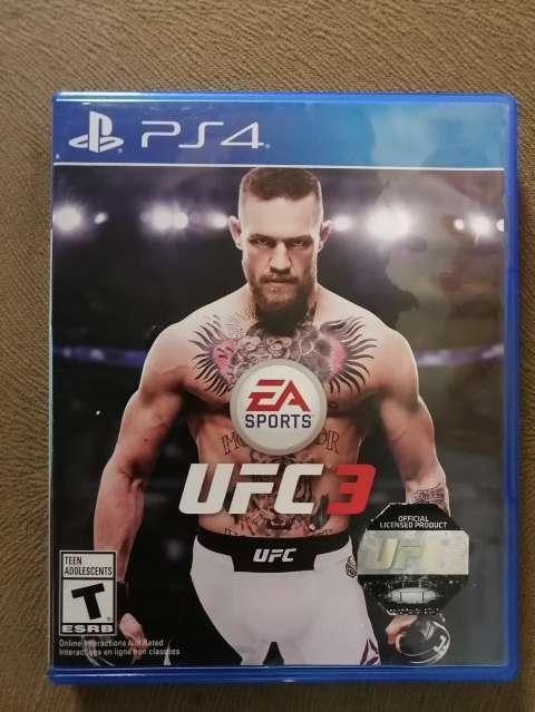 UFC 3 PS4 - 1