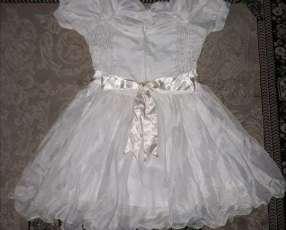 Vestido Infantil Blanco