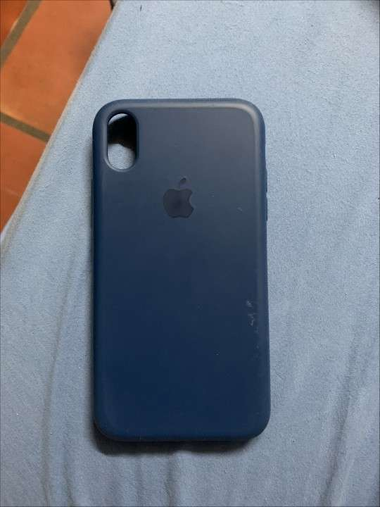 Forro de iPhone XR Azul - 0
