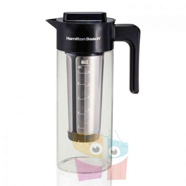 Cafetera de Inmersion e infusor de té helado Jarra de vidrio - 1