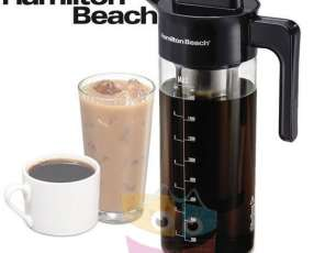 Cafetera de Inmersion e infusor de té helado Jarra de vidrio