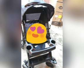 Carrito para bebé color negro