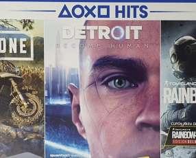 PS4 Slim 1 TB nuevo con 3 juegos