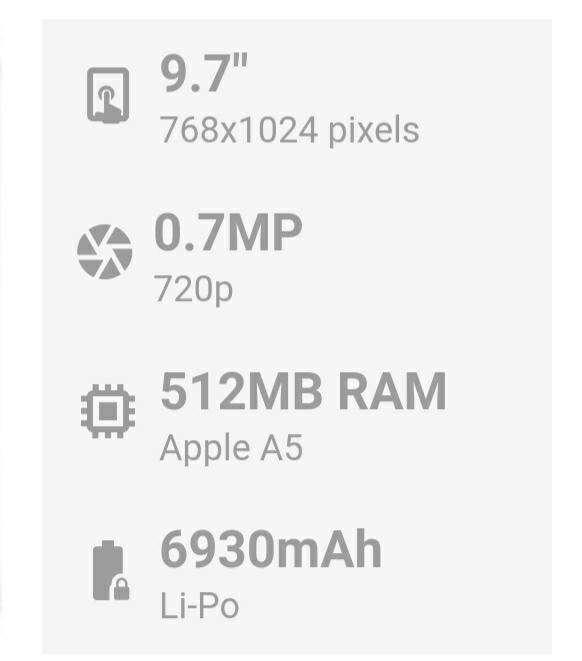 Apple iPad 2 16GB 9.7