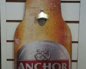 Placa de madera MDF con diseño de cerveza