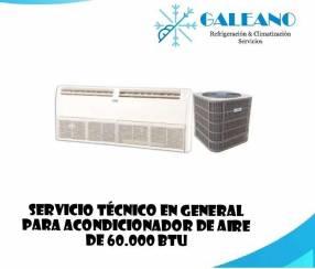 Mantenimiento e instalación de aires acondicionados