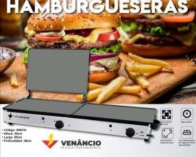 Plancha hamburguesera Venancio