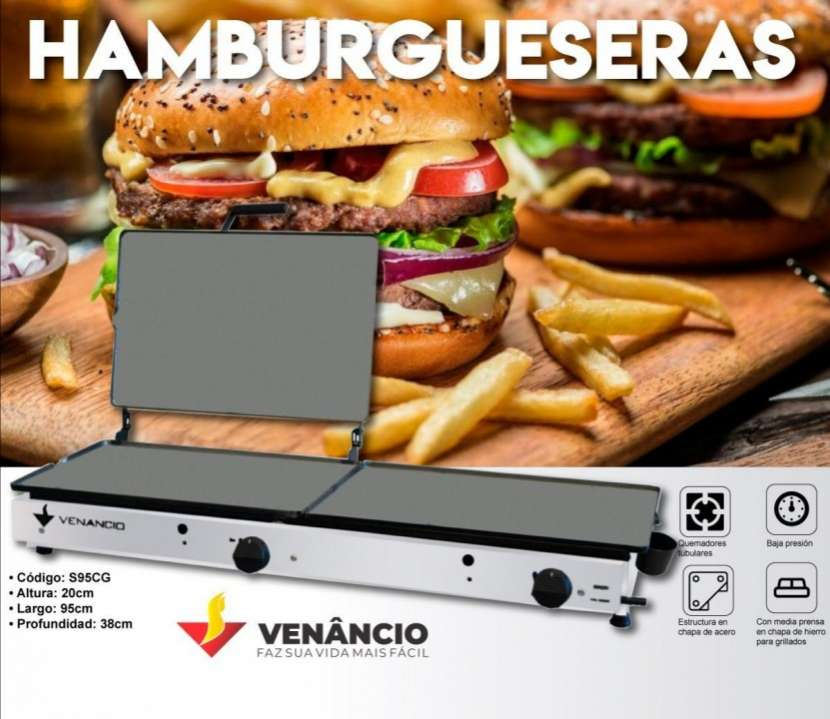 Plancha hamburguesera Venancio - 0