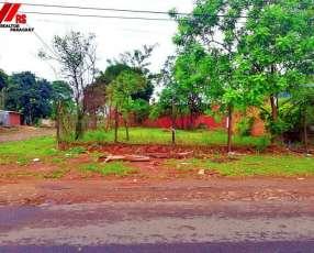 Alquilamos terreno en Lambaré sobre asfalto