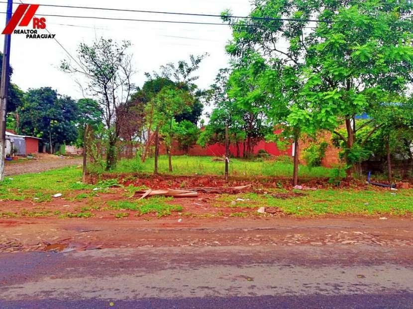 Terreno en Lambaré sobre asfalto - 0
