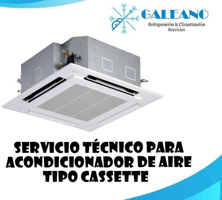 Técnico en refrigeración para aires acondicionados tipo cassette en Asunción - 0